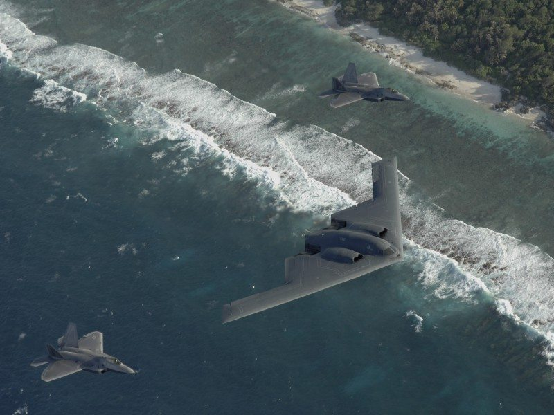 industrie militaire US F-22-b-1-fly-usaf