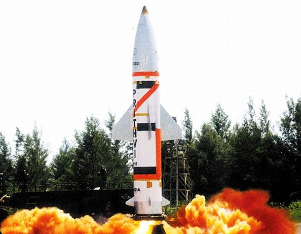 India Test-fires Another Prithvi IRBM