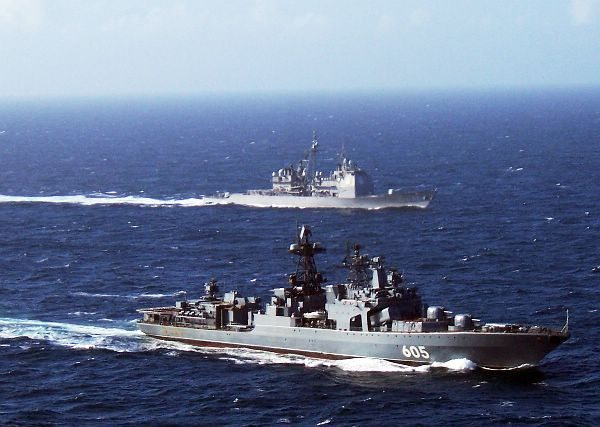 Russian cruiser to lead foreign ships in China naval parade