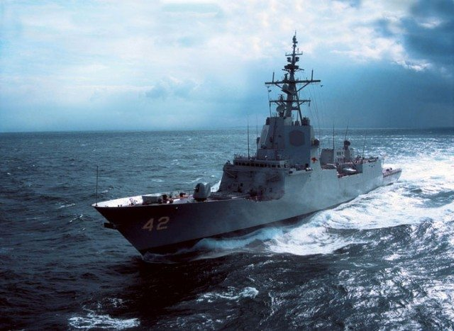 Testing Begins on Australia's First Aegis Weapon System