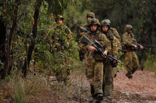 Australian commandos operating in Afri...