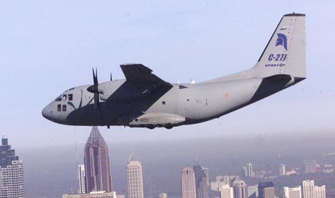 C-27J Spartan Set to Join US Air Force Fleet
