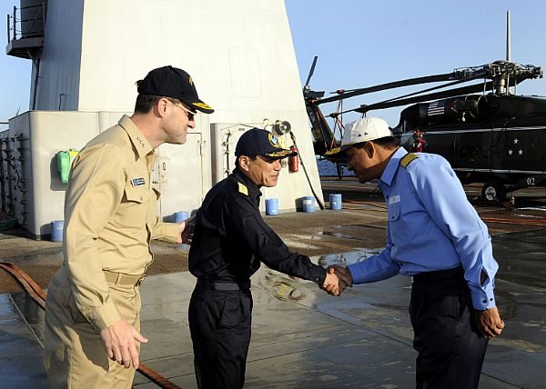 India, Japan, US Foster Relationships During MALABAR