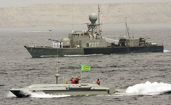 Iran Launches Destroyer In Caspian Sea...