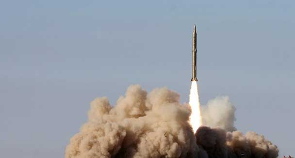 Iran says fired missiles into Indian O...