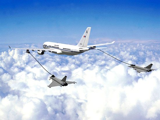 Airbus to provide air refueling tanker...