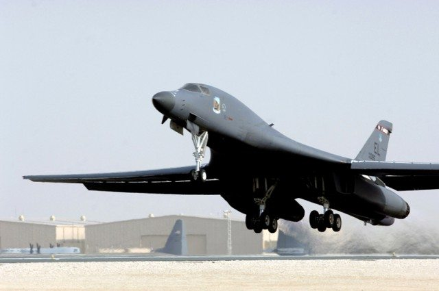 B-1 Bomber out of SD Crashes in Mont.;...
