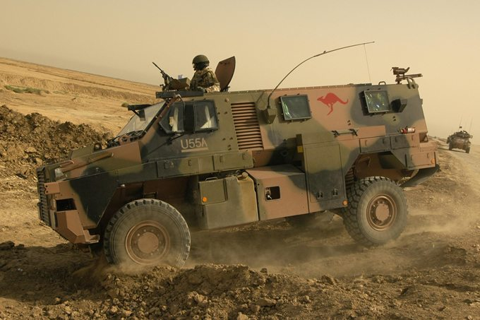 More Bushmasters for Army, Hawkei Deve...
