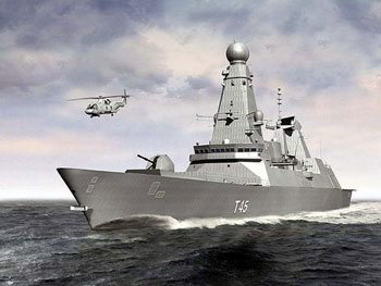 Third Type 45 Destroyer Ready for Oper...