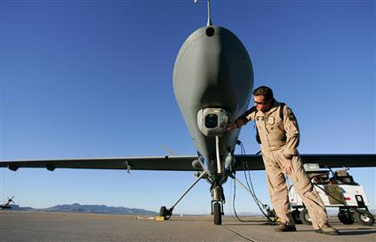 US drones hit mostly low-level targets...