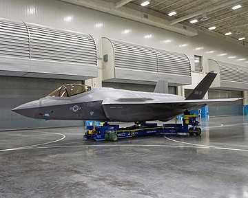 F-35 Radar-Signature Test Aircraft Rolled out