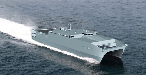 US Navy Orders Material for Additional Austal JHSVs