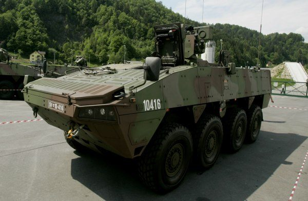 Patria Delivers Next Generation Armoured Wheeled Vehicles to Sweden