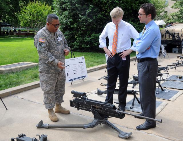 PEO Soldier showcases gear at Pentagon