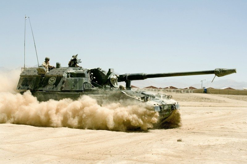 Germans Drop Australian Self-Propelled Gun Program