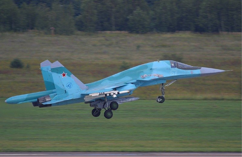 Two More Su-34 Frontline Bombers Delivered to the Russian Air Force