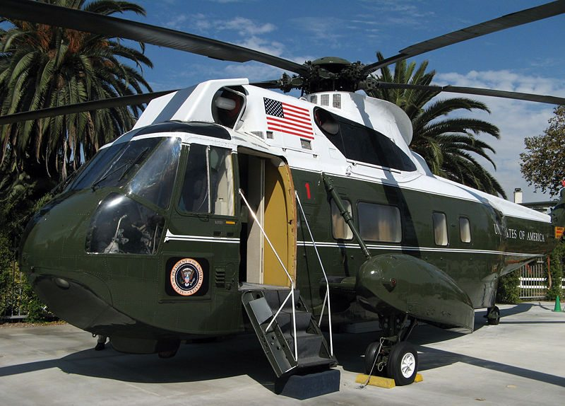 Former Presidential Helicopter Redelivered to the Egyptian Government