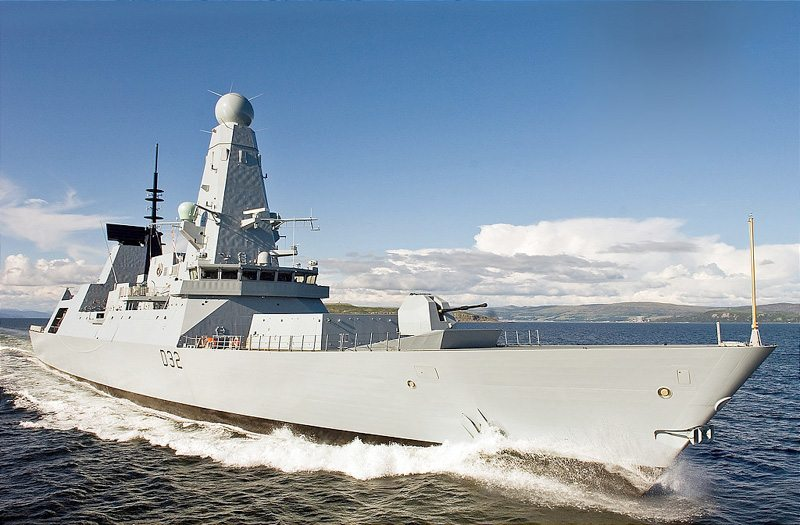 UK Sending Destroyer HMS Daring to Per...