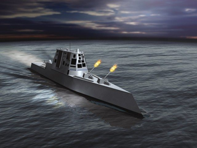 BIW Lays Keel of Second DDG 1000-class...
