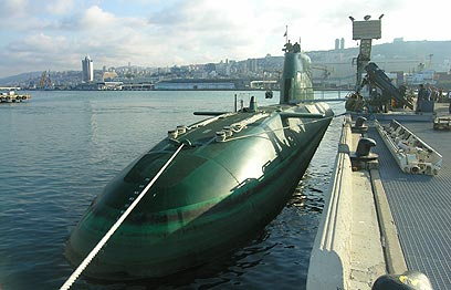 German wavers over sale of sub to Isra...