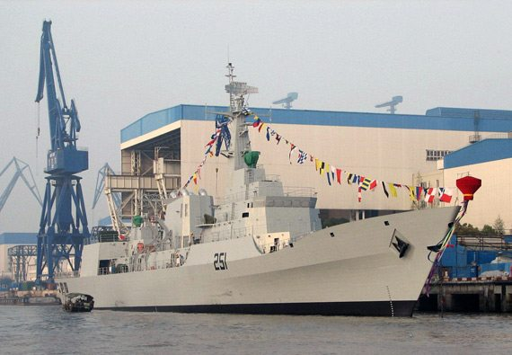 China delivers warship to Pakistan: navy