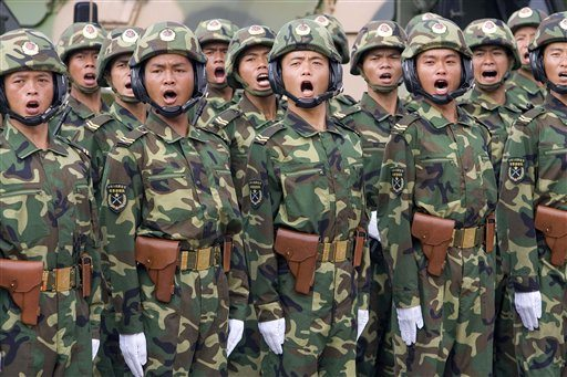 US view of China's military threat 'groundless'