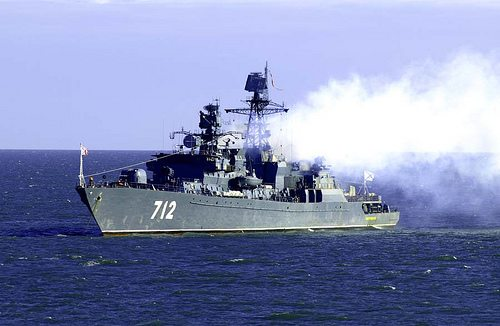 Russian Navy Holds Syria Exercises