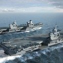 Construction of Second Carrier Begins at Portsmouth