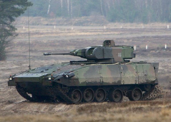 PUMA Infantry Fighting Vehicle Enters ...