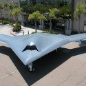 Bat-winged drone bomber in test flight: US Navy