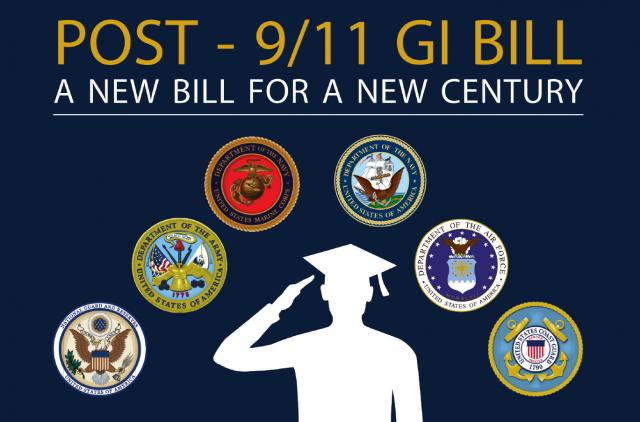 GI Bill education transfer incurs 4 ye...