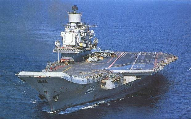 india details aircraft carrier admiral gorshkov agreement