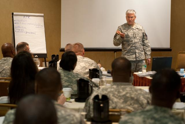 Army developing master resiliency training