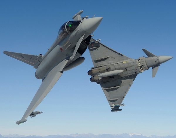 RAF Typhoons In Lithuania Retasked to ...