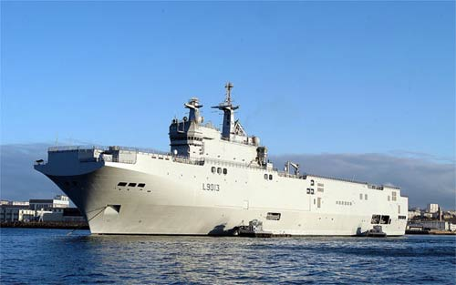 Warship deal with Russia losing suppor...