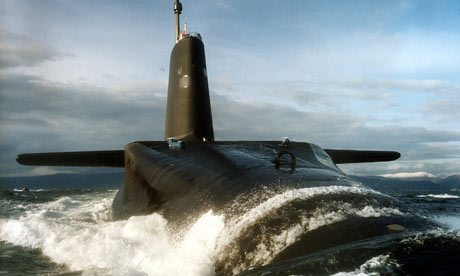 Trident Nuclear Fleet Cuts Ruled Out b...