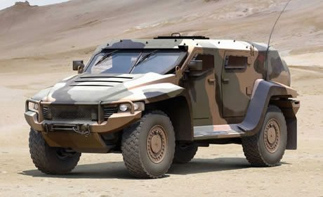 Next Stage for Hawkei Army Vehicle