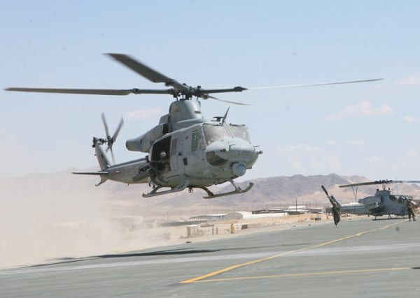 Upgraded H-1 Helicopters Deploy for th...