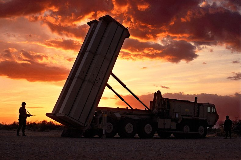 Pentagon says THAAD anti-missile test ...