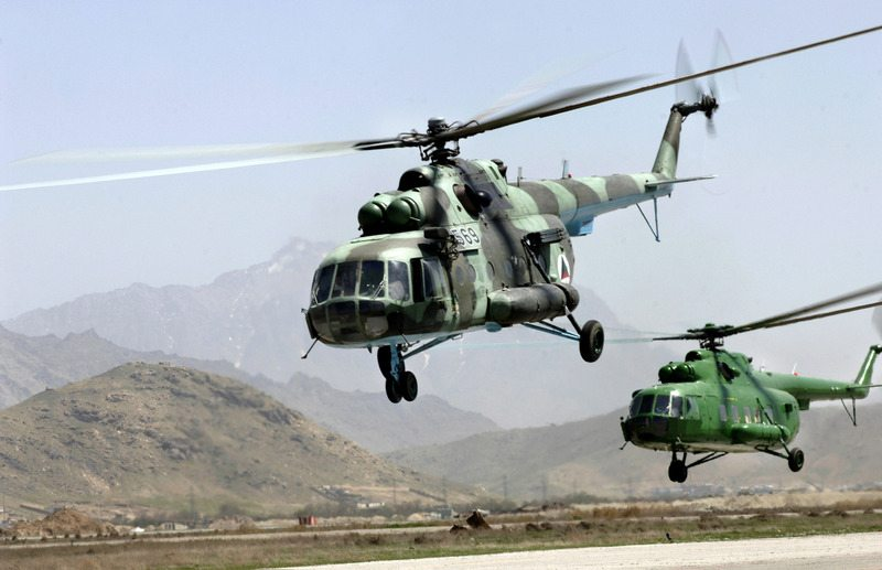 Russia, US sign Helicopter deal for Af...