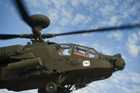 Army enters low-rate production for Block III Apache