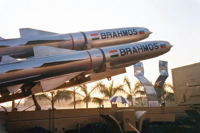 India Fires BrahMos Missile from Warship
