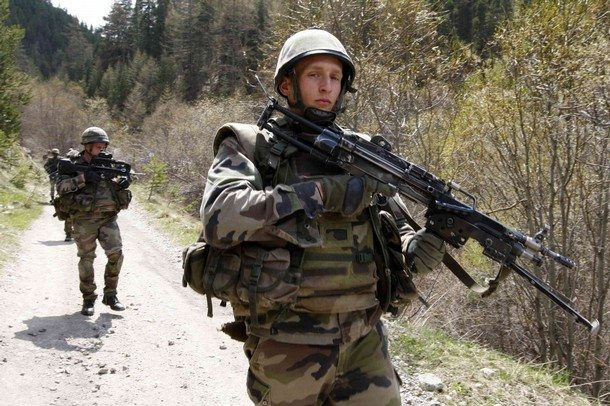 French Troops End Combat Mission in Af...