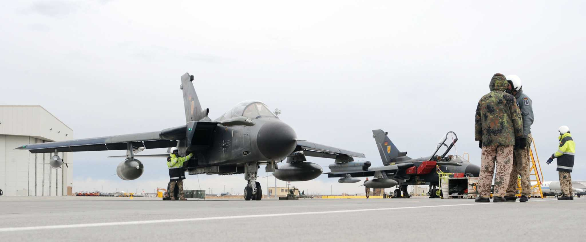Germany Requests Tornado Aircraft Trai...