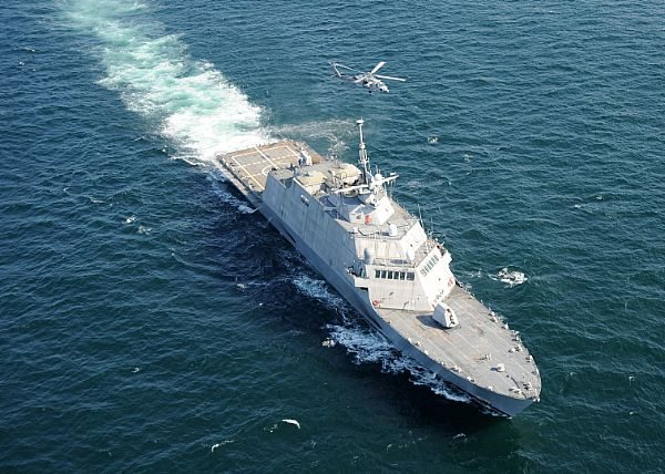 New Waterjets Could Propel LCS to Greater Speeds