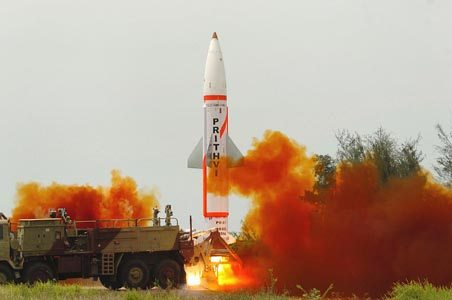 India Test-Fires Nuclear Capable Dhanu...