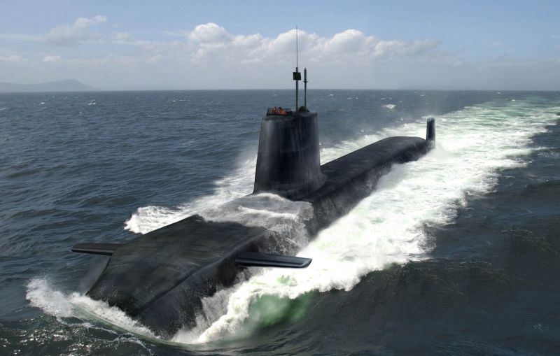 MOD Announces £1.2bn Contract for Audacious Attack Submarine