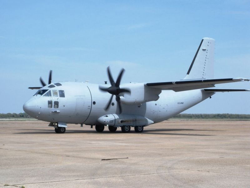 10th C-27A Delivered to Afghan Air For...