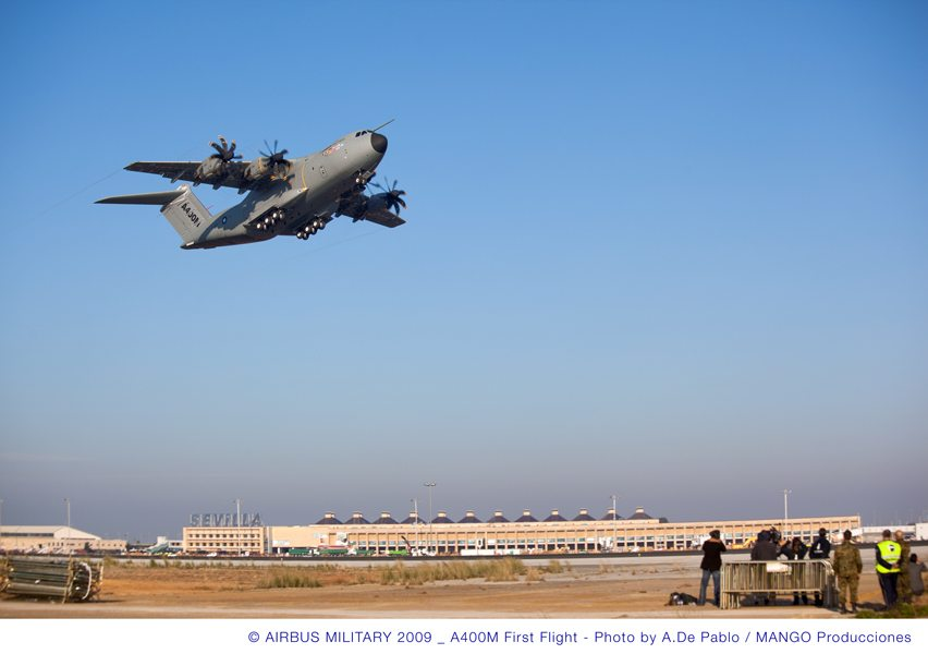 Defense Ministers, EADS Close to a Deal on A400M