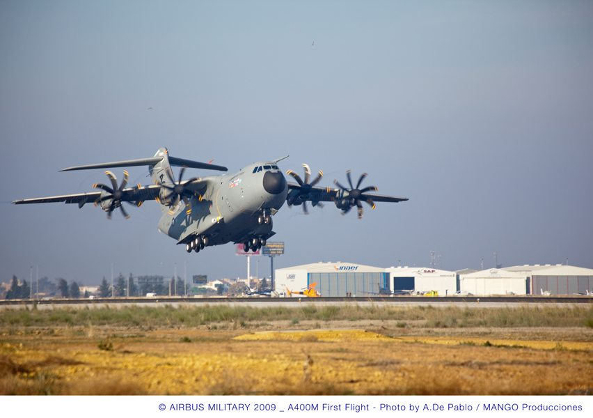 A400M Comes to France, Flight Tests Continue